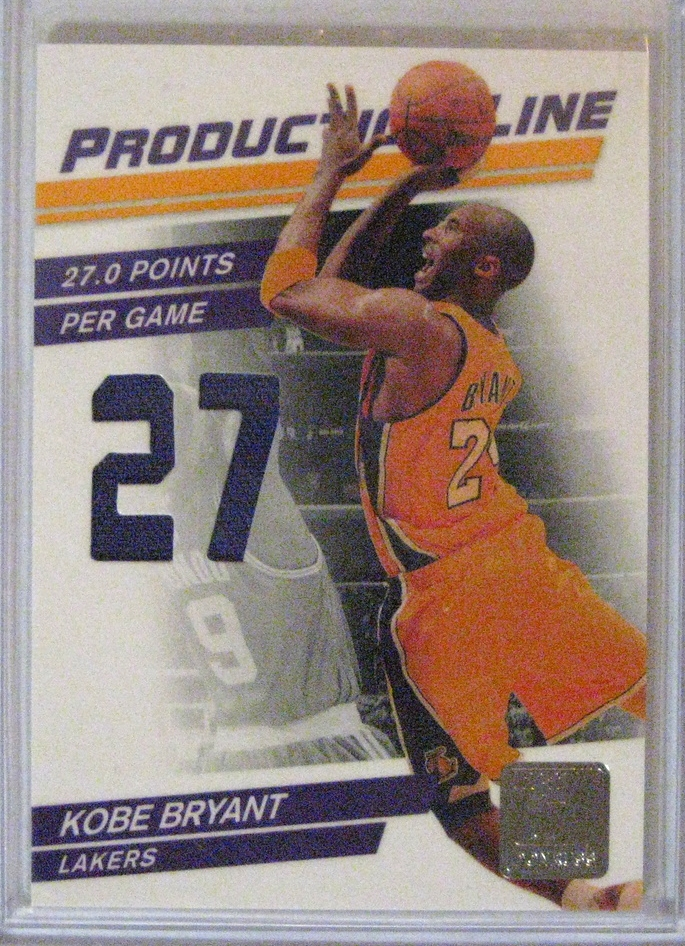 2010-11 Donruss Production Line Game-Used Patch