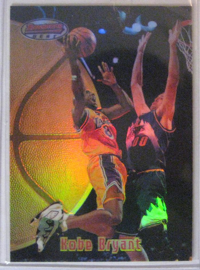 1997-98 Bowman's Best Kobe Bryant Refractor