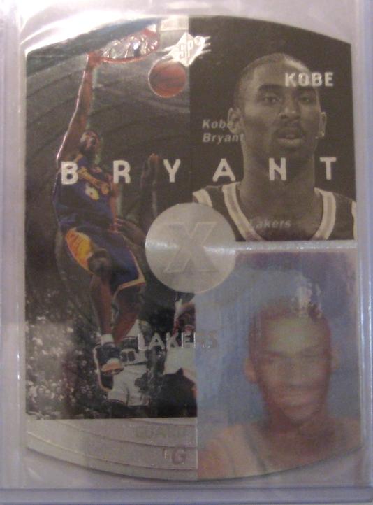 1997-98 SPX Silver Kobe Bryant