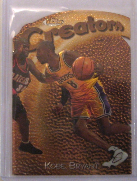 1997-98 Topps Finest Embossed #232 Kobe Bryant