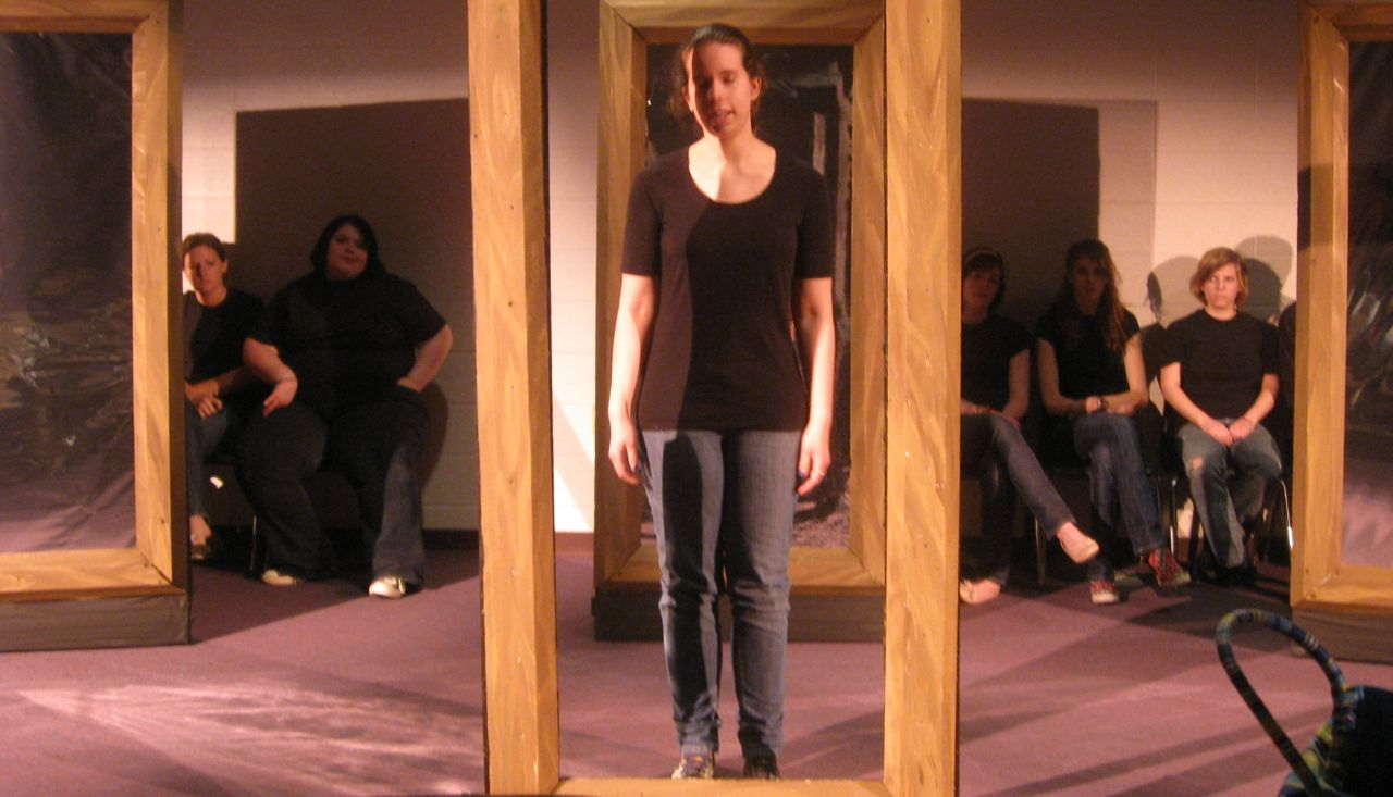Beyond the Mirror - social issue play about body image