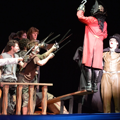 2013 Peter Pan One Act — Appleton North High School Theatre