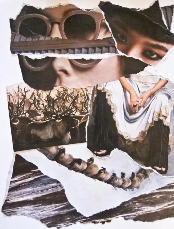 Collage by Karen Hanrahan.