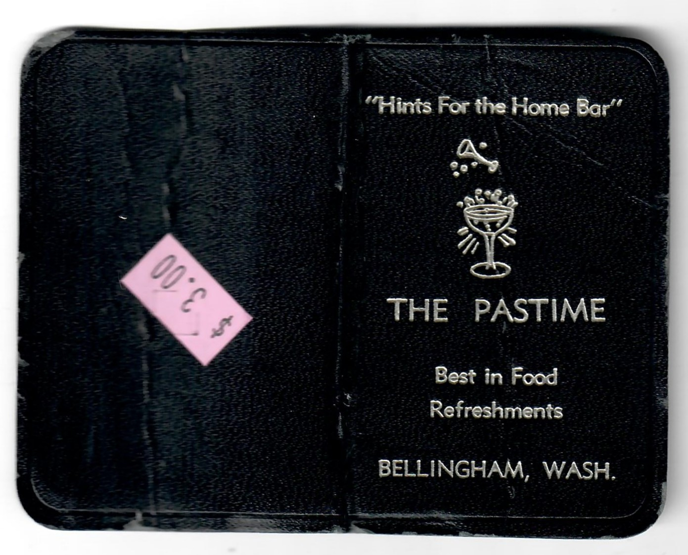 01 The Pastime  Hints for the Home Bar 1953 01.jpg