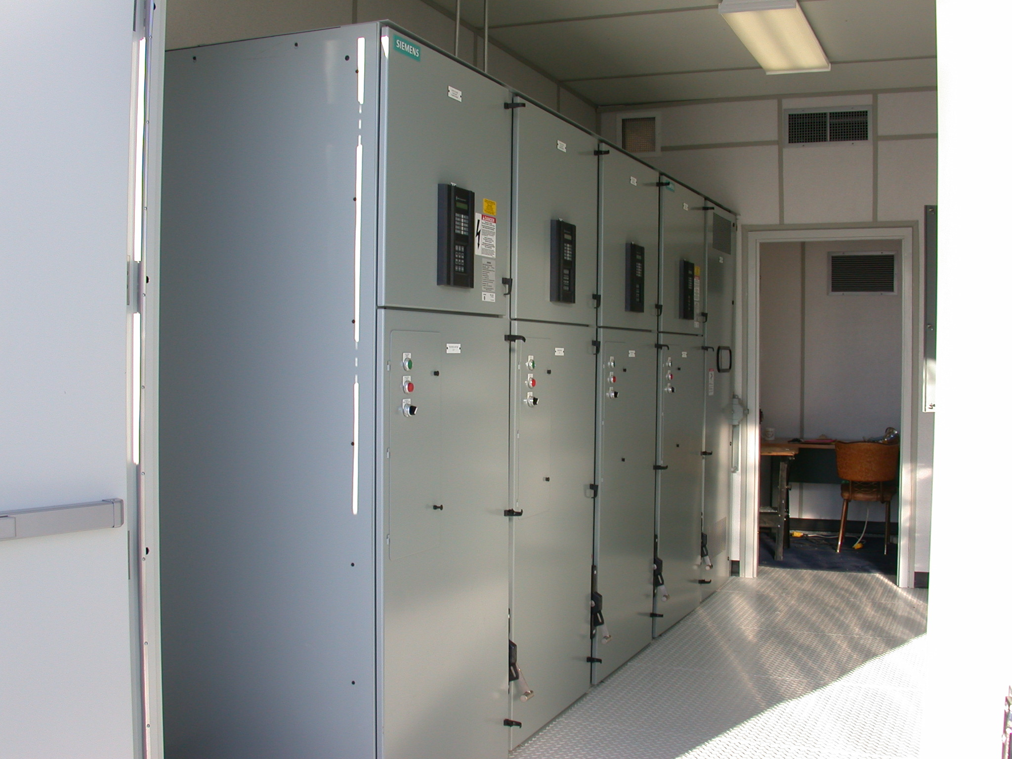 Interior of Control Room