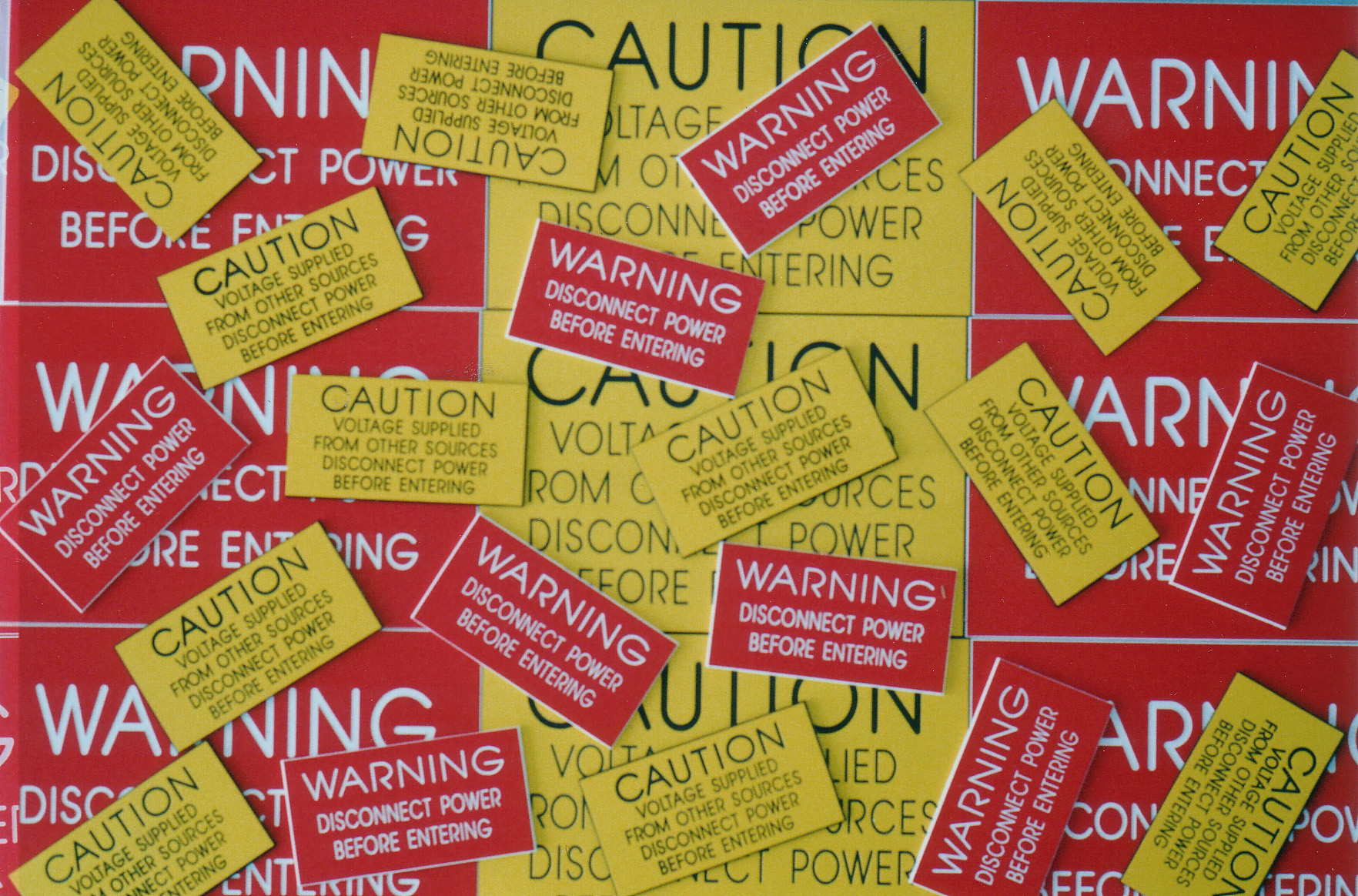 Caution and Warning Labels
