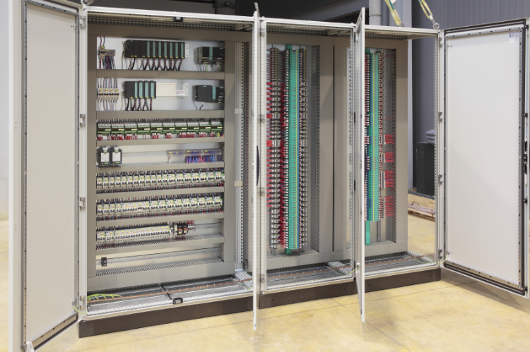 Large Electrical Control Panel with PLC