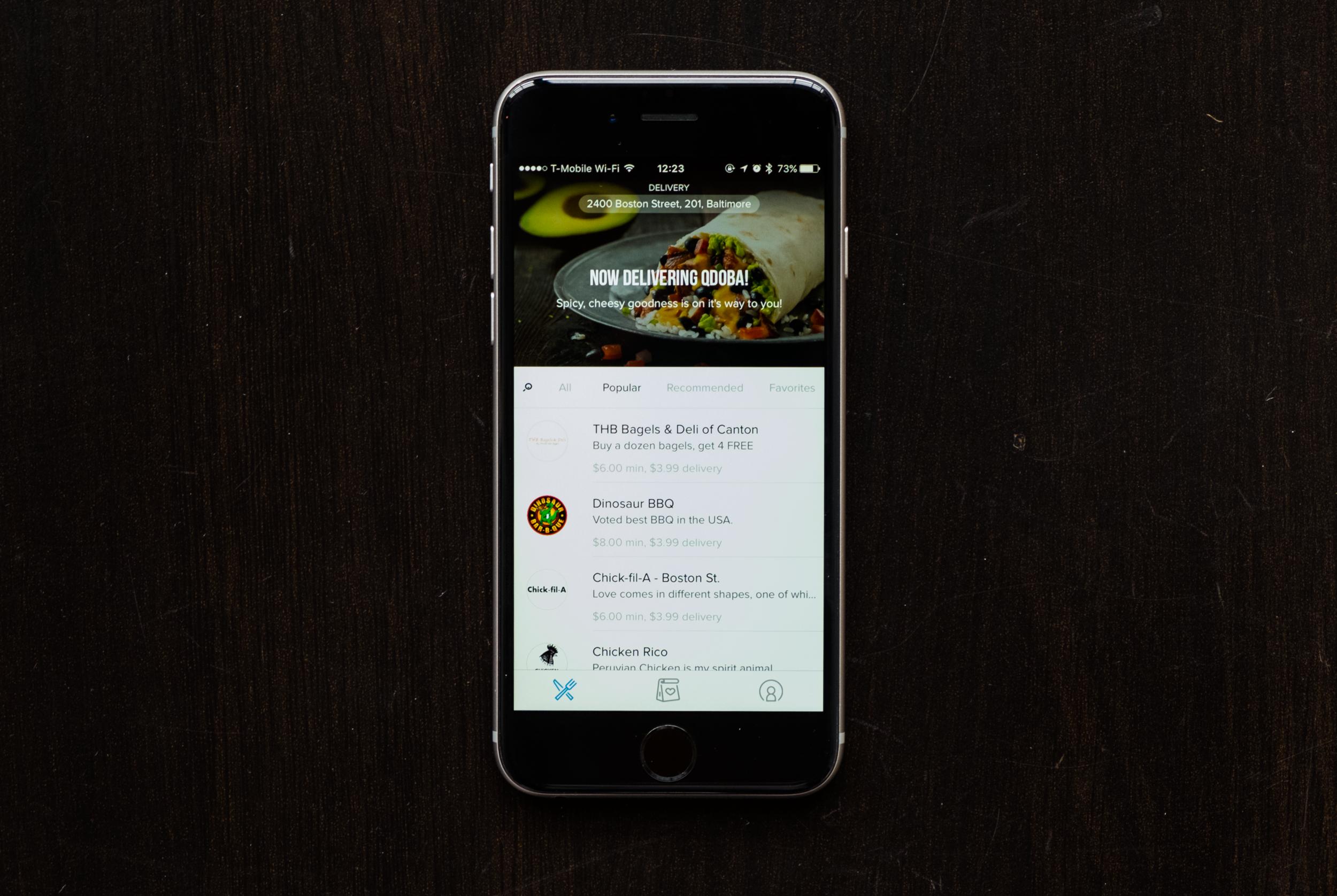 OrderUp App