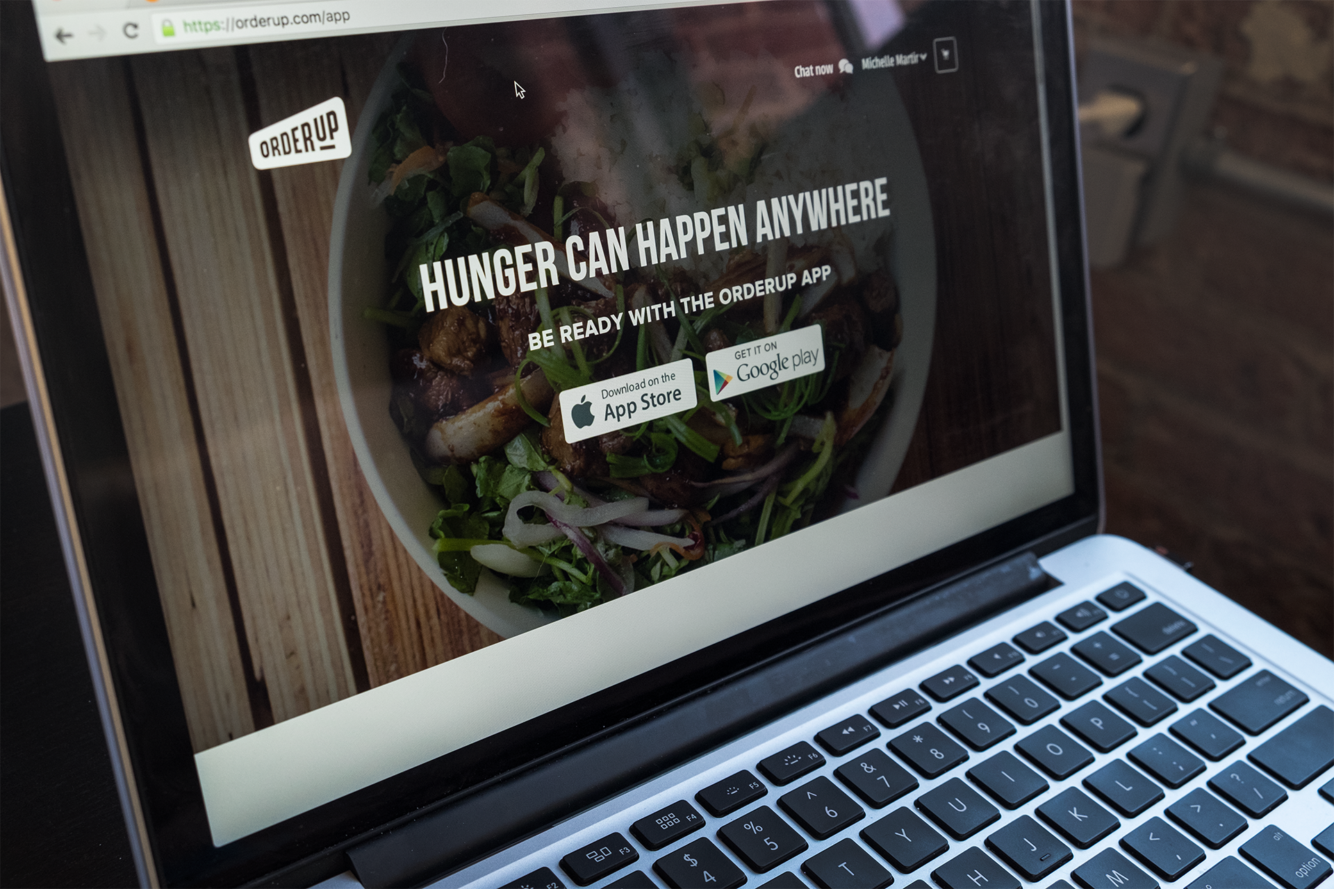 OrderUp App Site