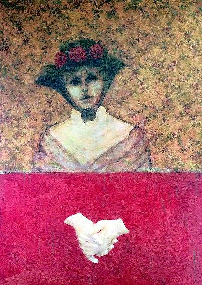 Woman with Rose Hat (Nantucket)