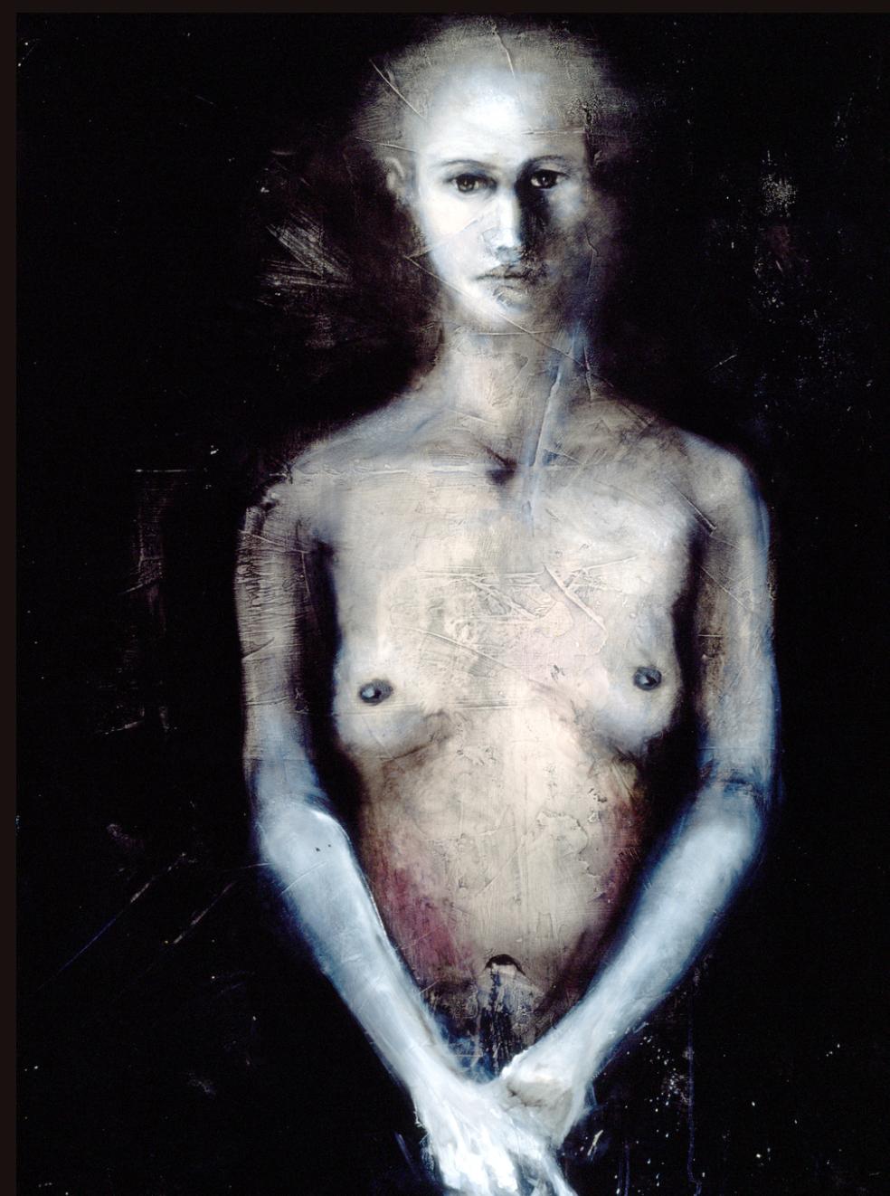 Nude on Plaster
