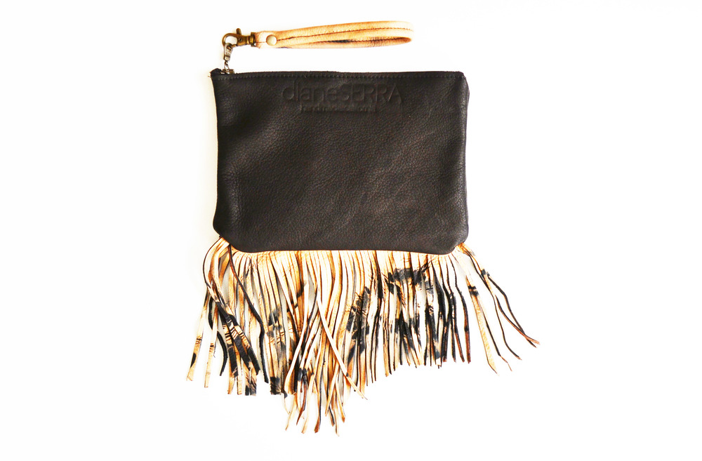 Black Clutch w: Dyed Fringe.jpg