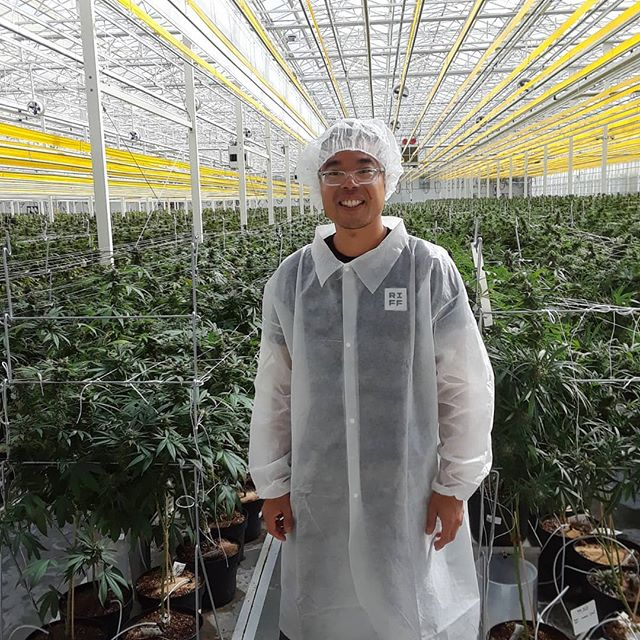Could this be the start of a new fashion trend? I was lucky to see Aphria's operations in Lemington. I'm pumped to help them distribute product come legalization....keep an eye out for their cannabis brand's- Riff, Solei, Goodfields, and Good Supply. My #cannabis enthusiasts page will be coming soon closer to #legalization so keep posted if that's something of interest to you.