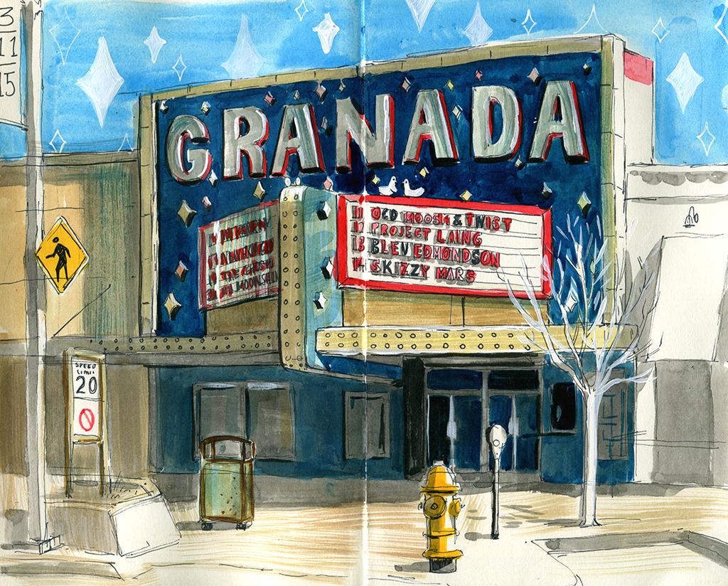 The Granada 3/11/15