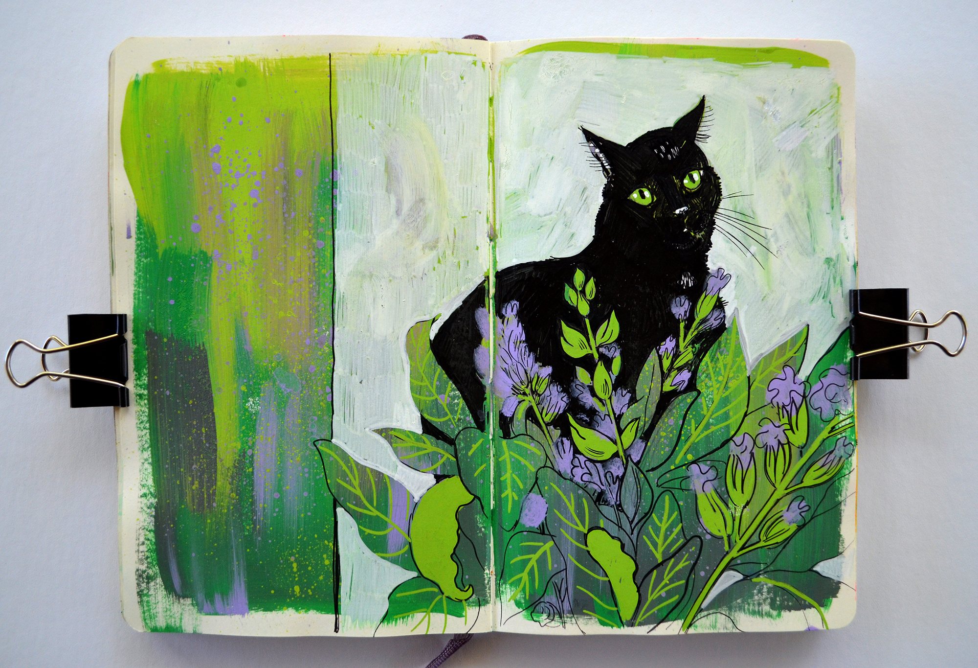 Elizabeth Baddeley Sketchbook