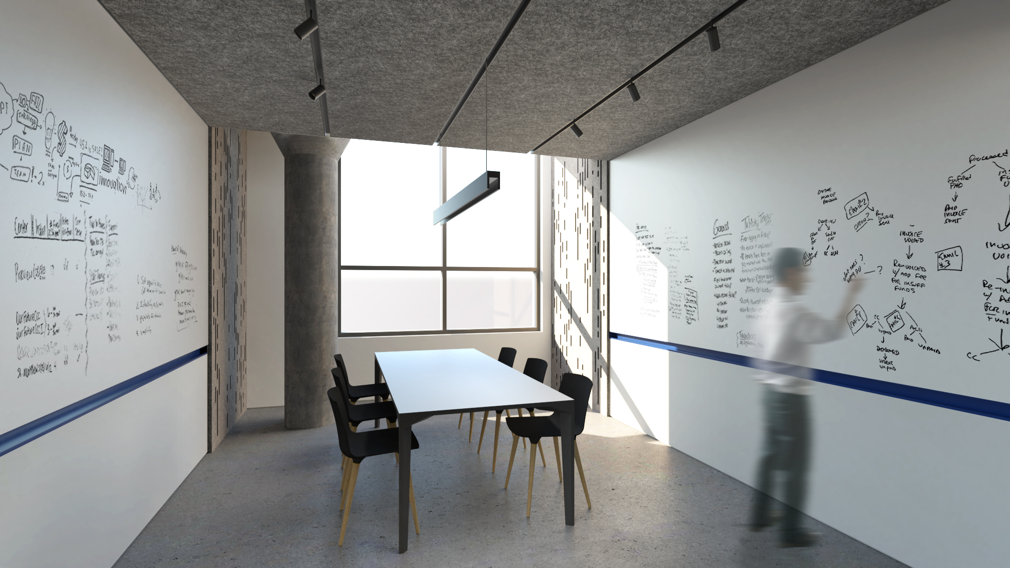 View of Conference Room - Commercial Interior Renovation