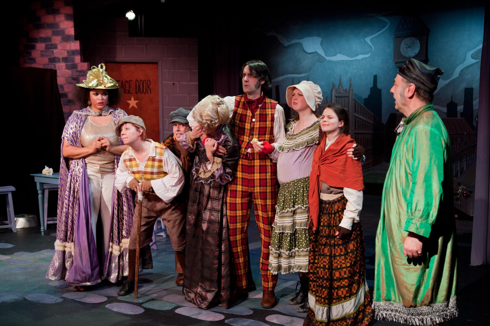 Theater: Mrs. Bob Cratchit's Wild Christmas Binge