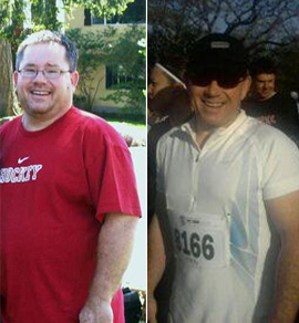 Doug Smith before and after