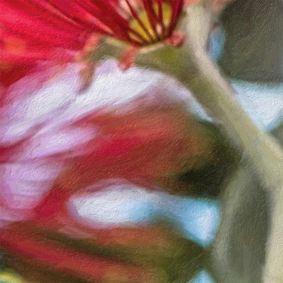 pohutukawa painted printed image on glass splashback lucy g detail c.jpg