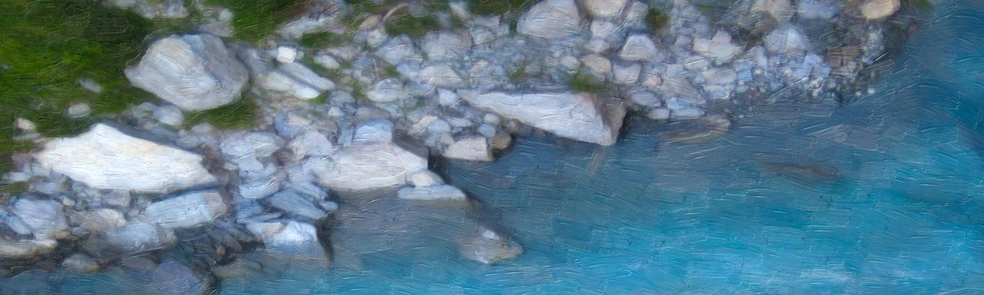 NAT 2016-18 Shotover River 1 (digital painting)