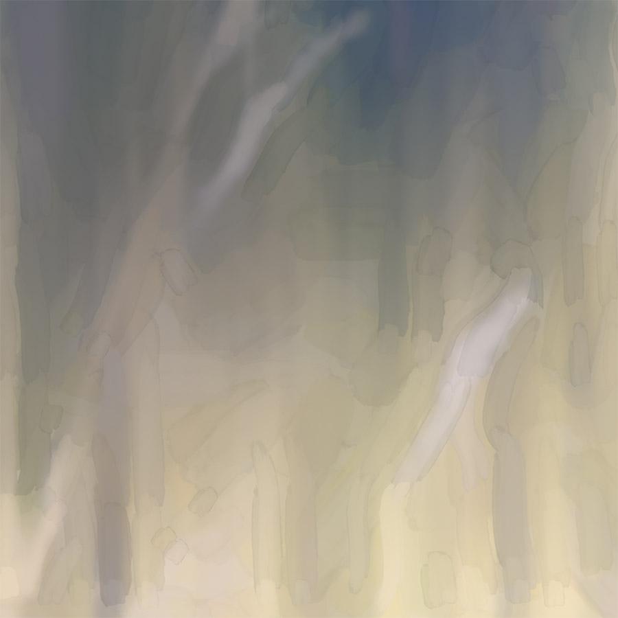 COLBLUR-5 Summer Haze C (digital watercolour painting) - detail