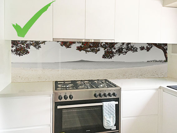 Off-centre hob - It often looks best if Rangitoto or the main focal point is centred over the hob.