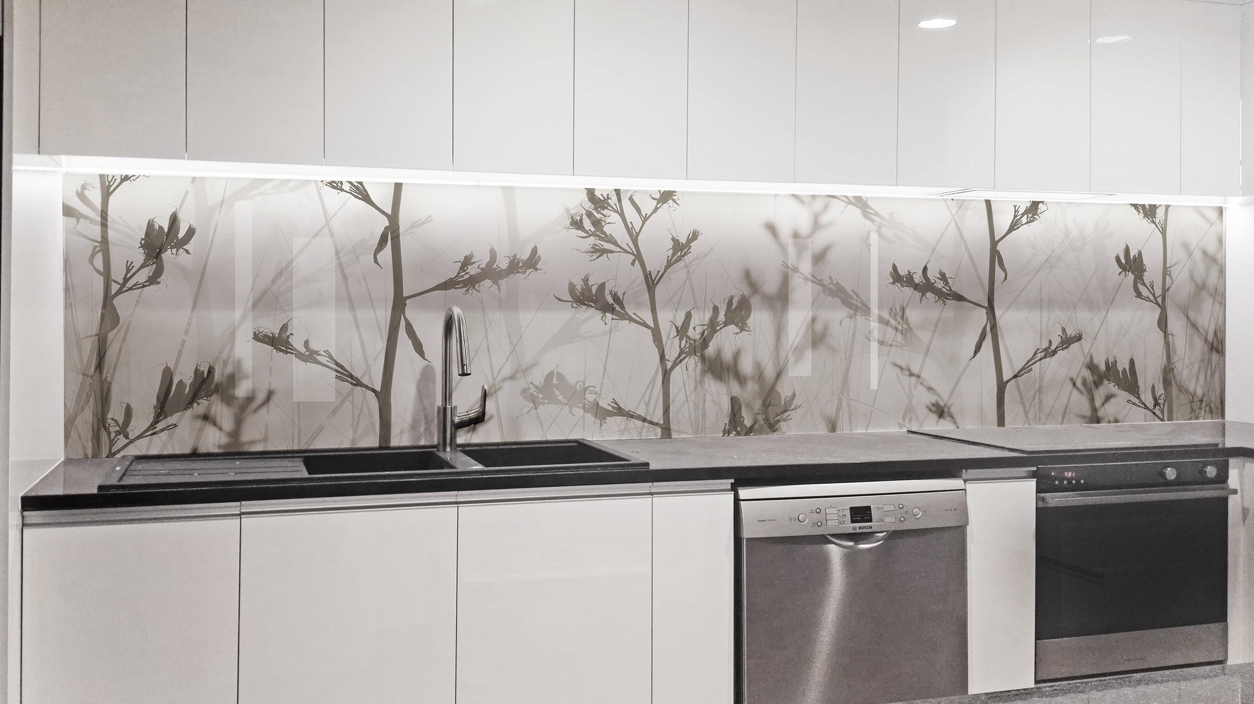 Various Customer Splashbacks Printed Images On Glass Kitchen Splashbacks And Glass Wall Art By Lucy G