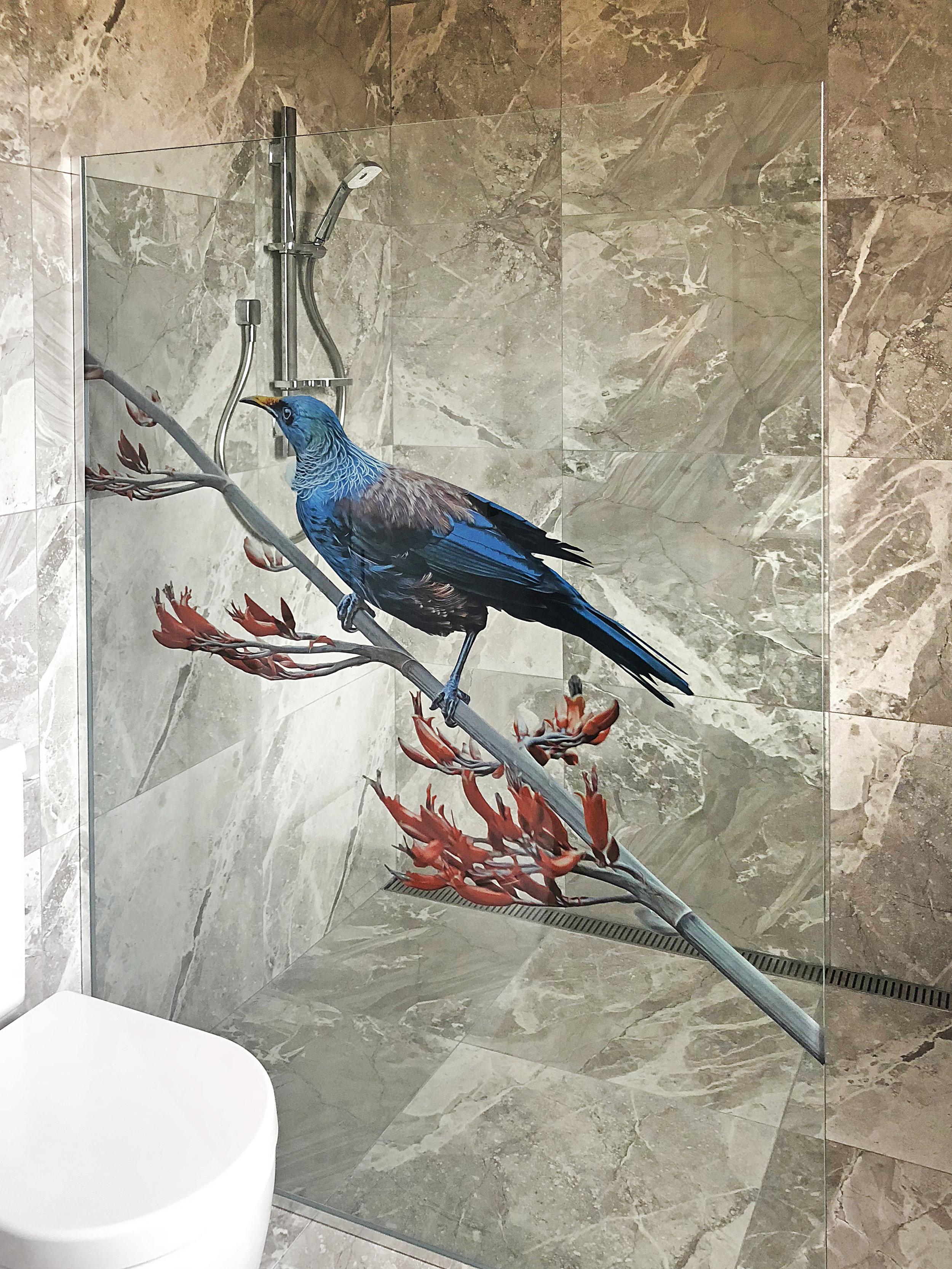 Custom Tui shower screen