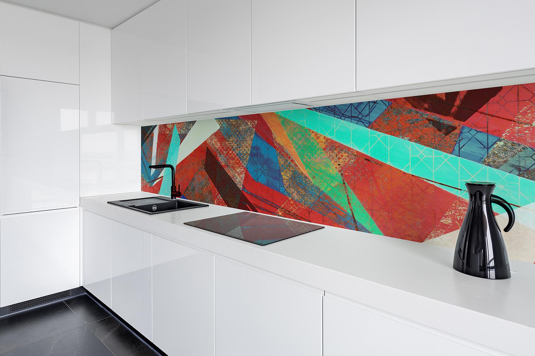 ARCH 2019-9 Retro Mural 2 glass splashback