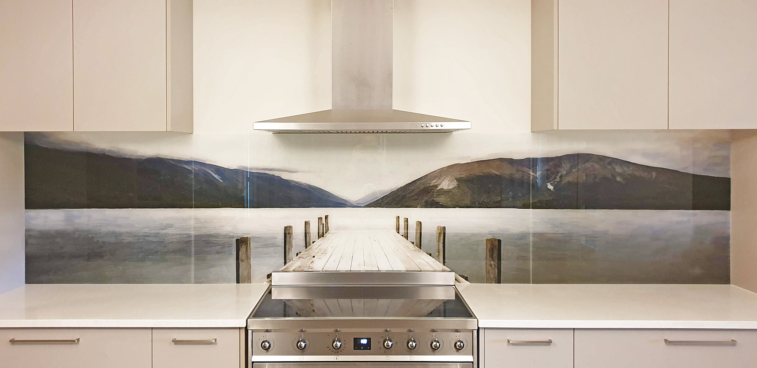 Printed Images On Glass Kitchen Splashbacks And Glass Wall Art By Lucy G