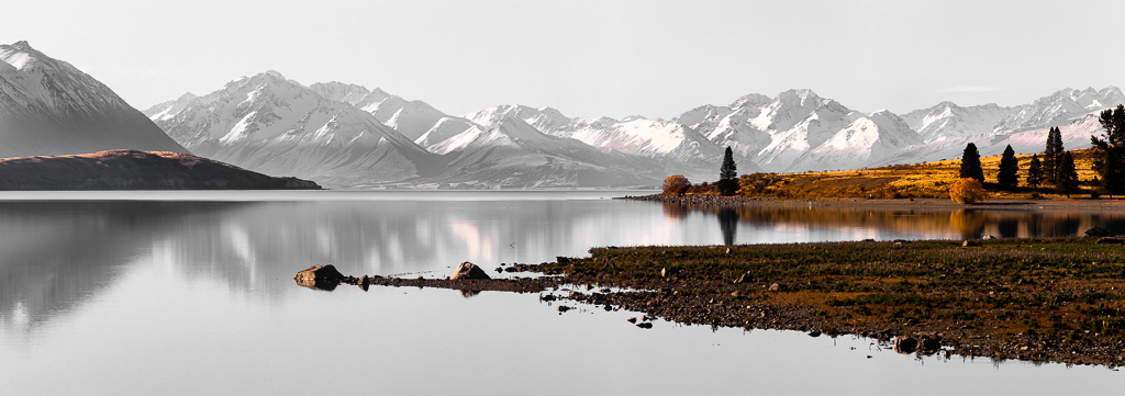 RINA-1    Lake Tekapo selective colour