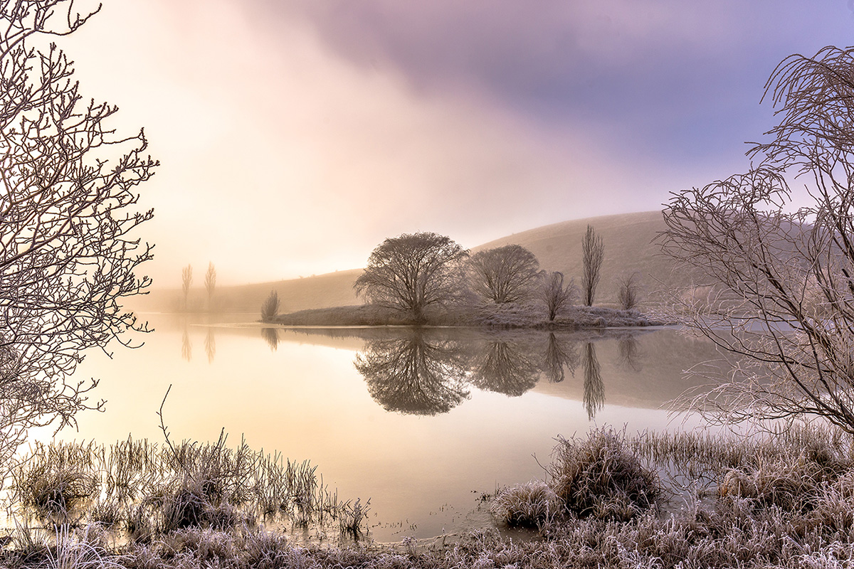 RG1 - Hoar Frost Loch Twizel