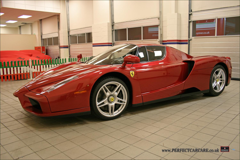 Ferrari Enzo - Paintwork Enhancement Detail
