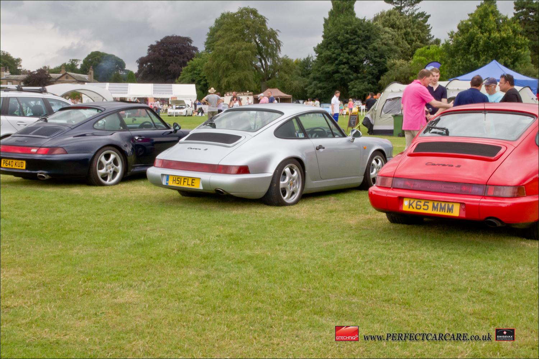 Perfect Car Care Porsche festival 2014