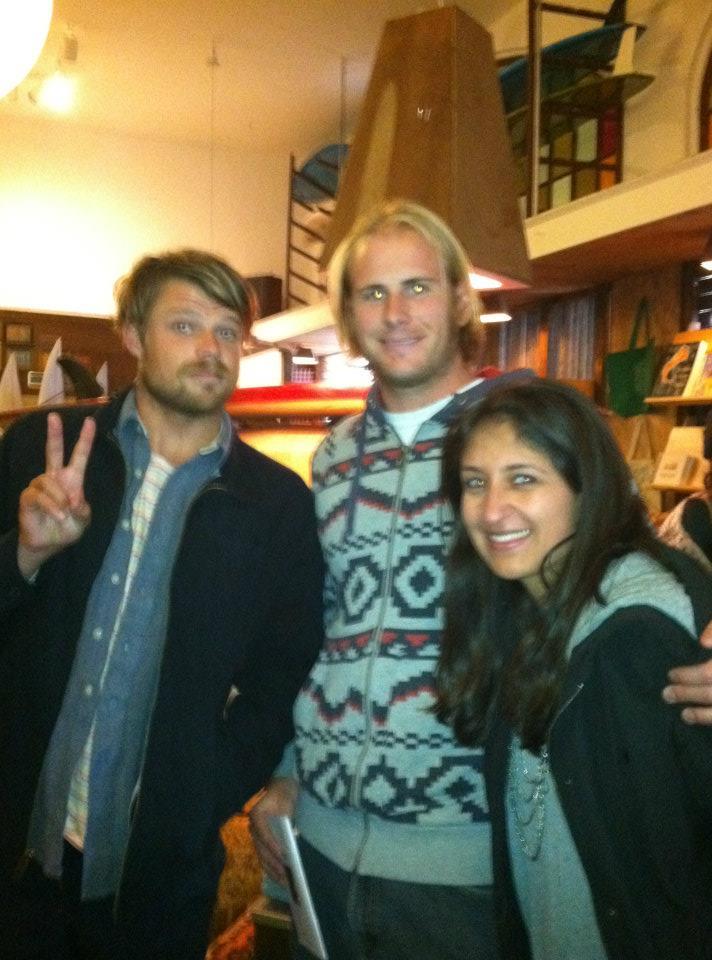 WB Surf Lesson Team with Dane Reynolds