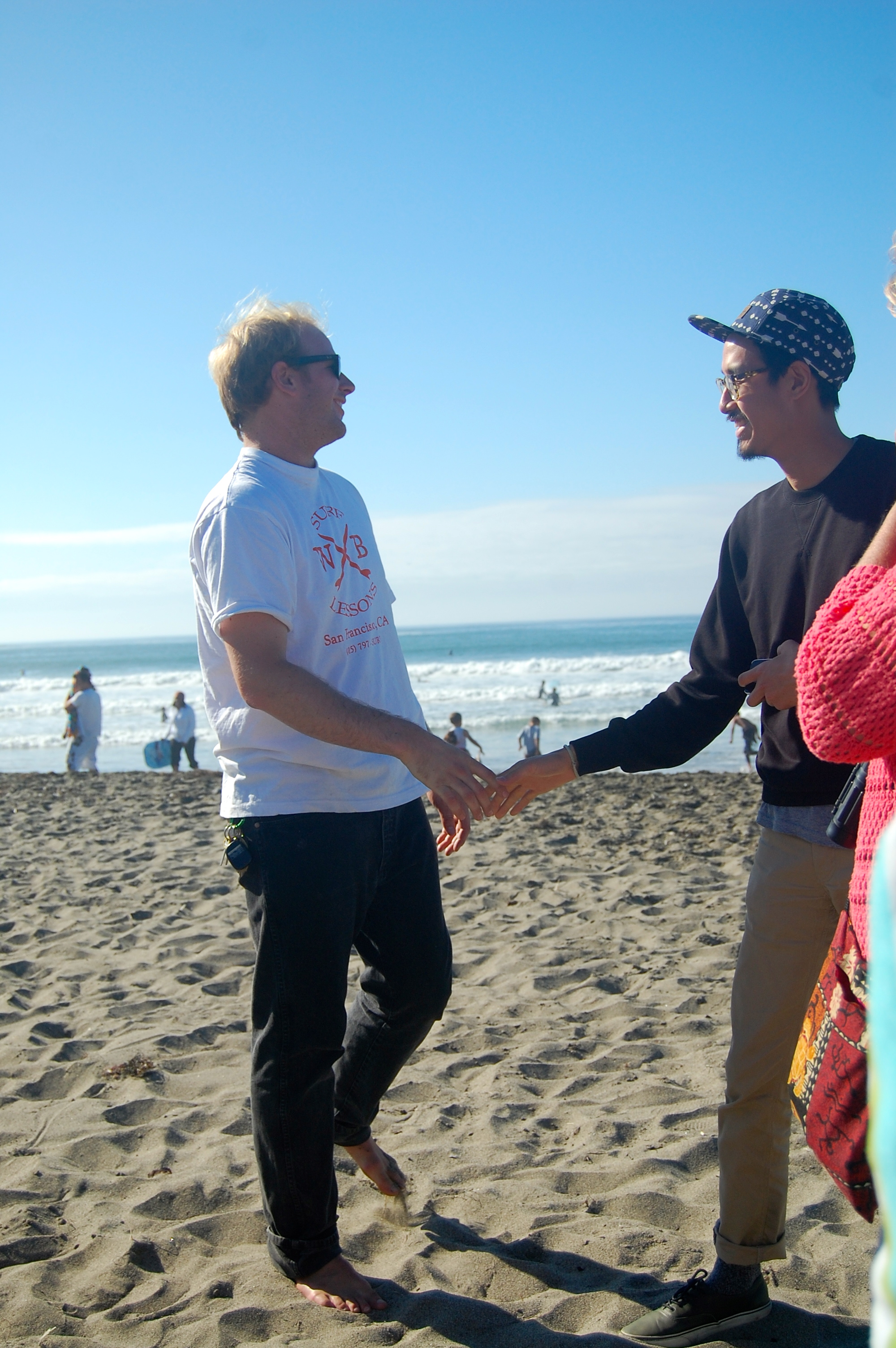 Past employee, Andrew, wins a surf lesson!