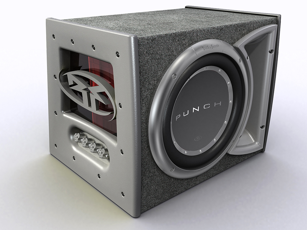 Rockford Fosgate : P3 Woofer Box