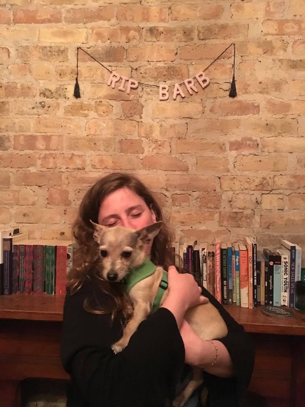 Samantha Berkman & Sell Me A Pup's amazing intern