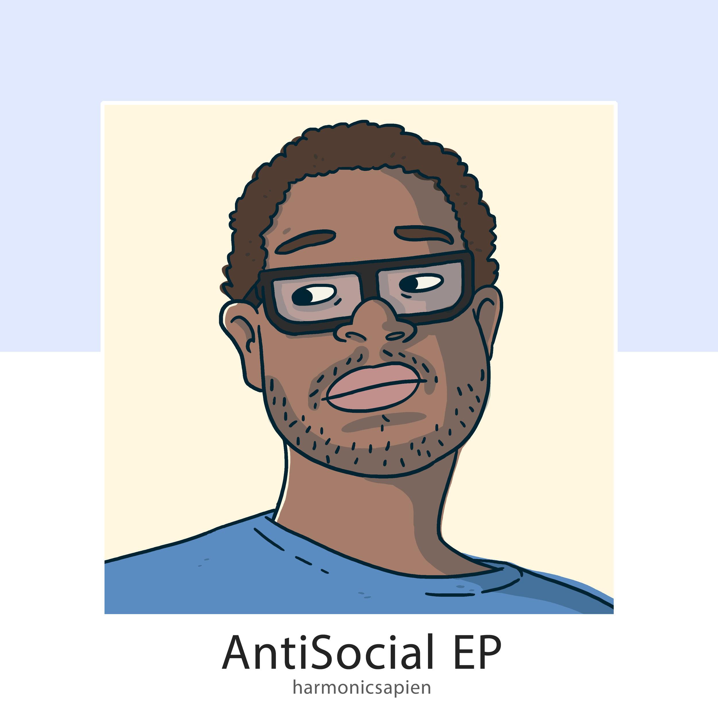 Harmonic Sapien - AntiSocial EP