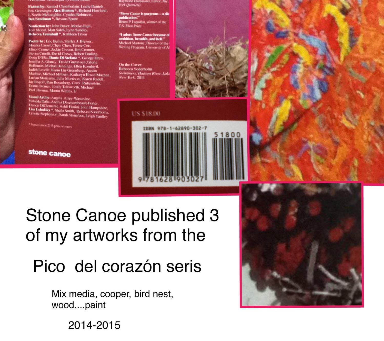 Pico del corazón in Stone Canoe publication