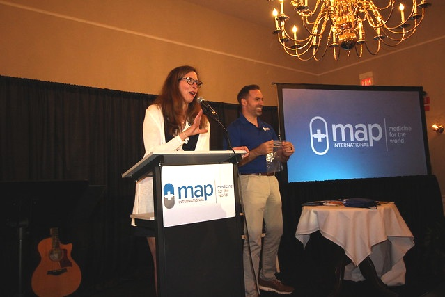 Emcee for major donor weekend - Assignment: Serve as emcee for a 3-night major donor weekend for non-profit organization MAP International.Outcome: Set the tone for the weekend (friendly, warm, welcoming), introduced speakers, kept the program on time and developed a fun ice-breaker trivia game that at one point got the whole room (60+ people) singing the Gilligan's Island theme song.