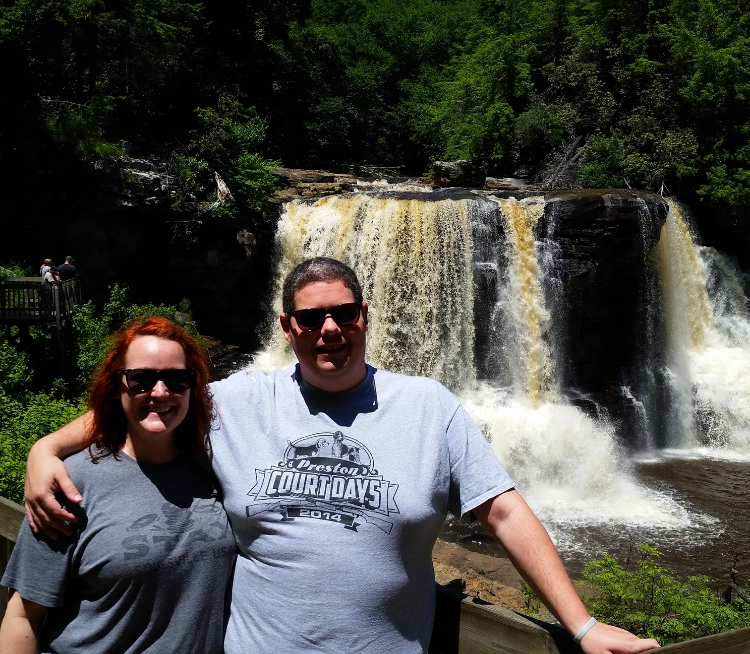 Blackwater Falls. Davis, West Virginia. Many thanks to Viola for taking the photo!