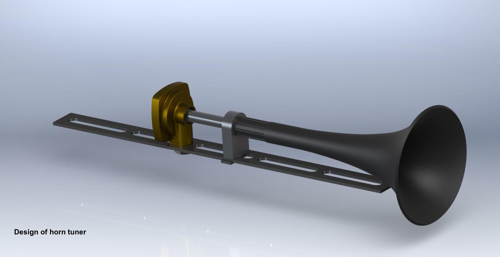 design of horn tuner ©Autogena & Portway 2013