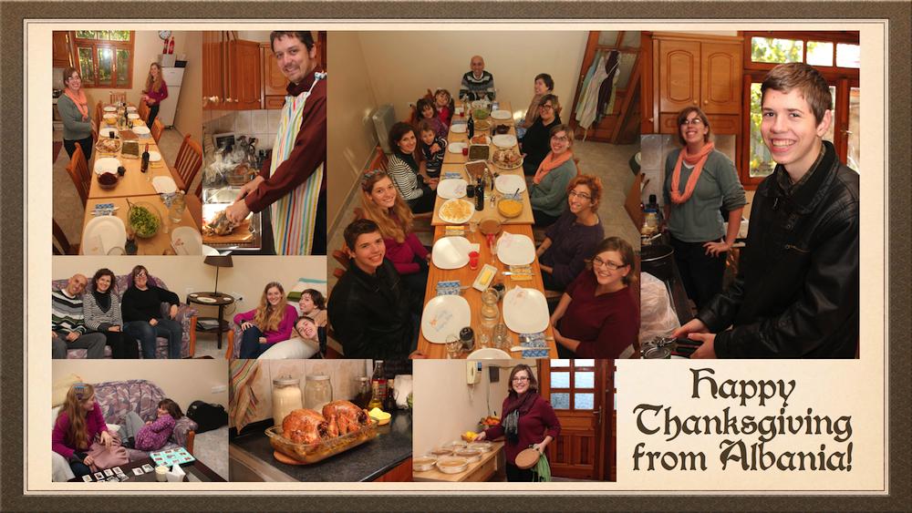 The Shack family was very blessed to host a Thanksgiving dinner with Bani, Zamira, Eklesian & Sajmon Verçani, Julie Shelley, Kerri Nixon and Rose Shero.
