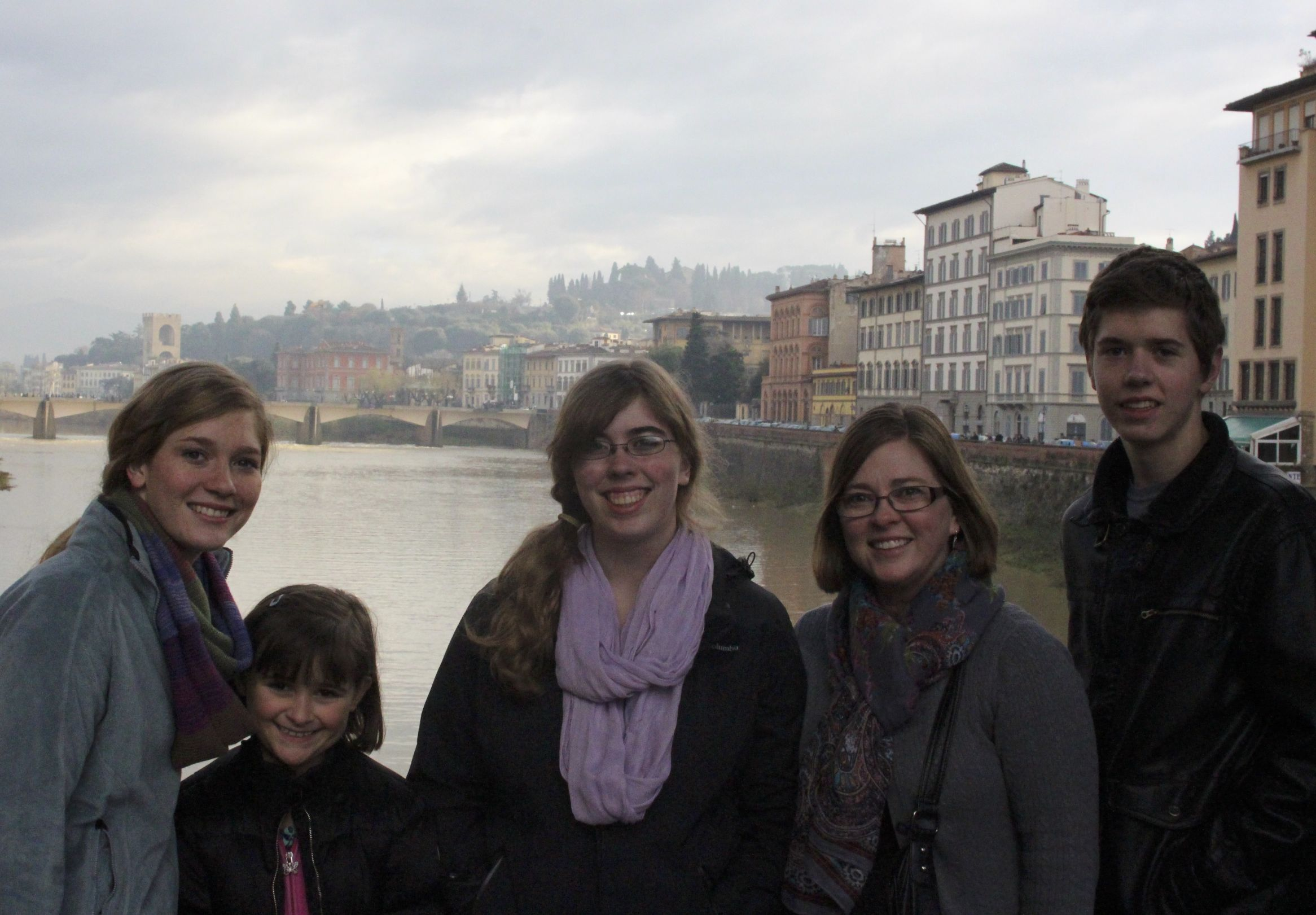 On the Old Bridge of Florence