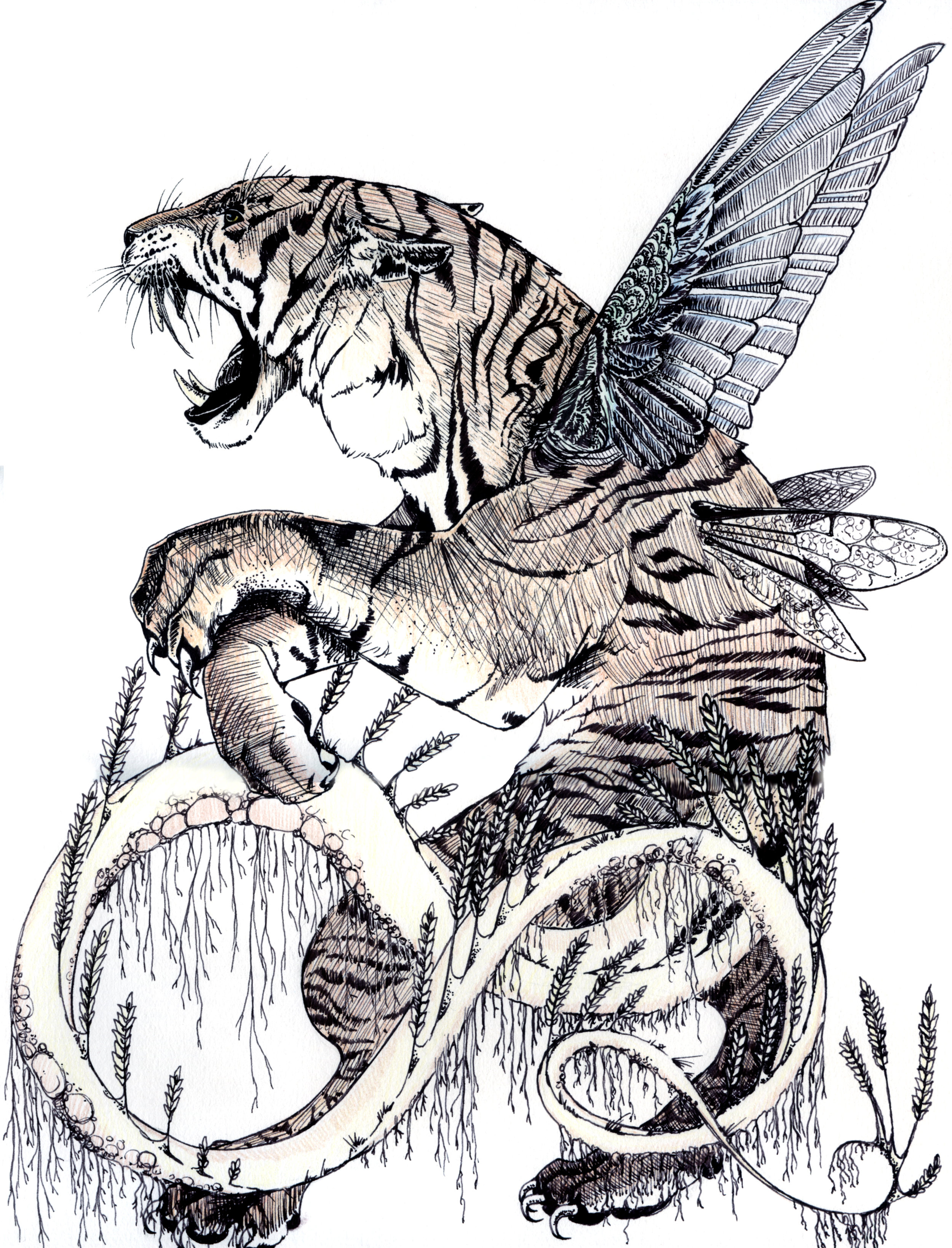 Wheat Tiger Chimera