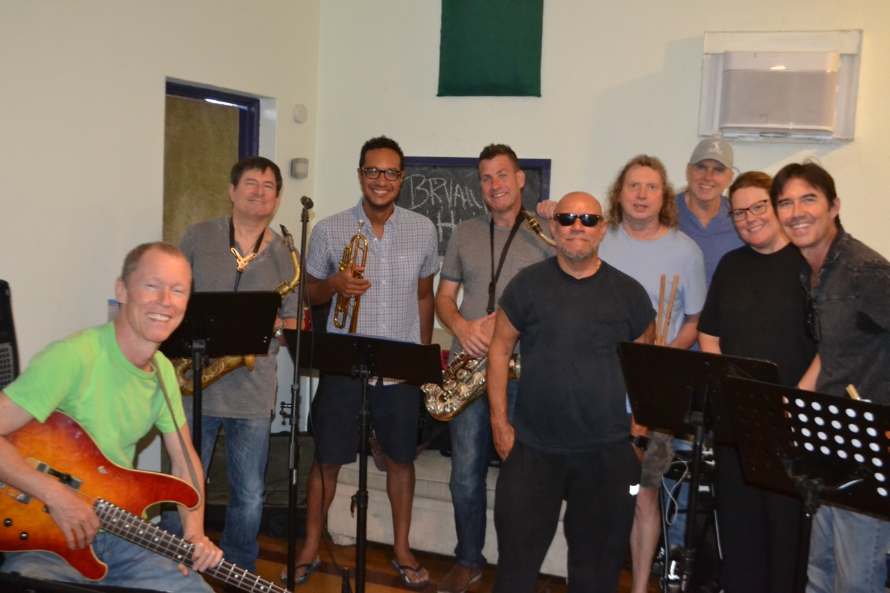 The Bryan Hughes group: Patrick Bettison, Mike Scaglione, James Suggs, Mike Gibilisco, Gumbi Ortiz, Dave Reinhardt, Ron Reinhardt, Whitney James and Bryan Hughes. June 26, 2019