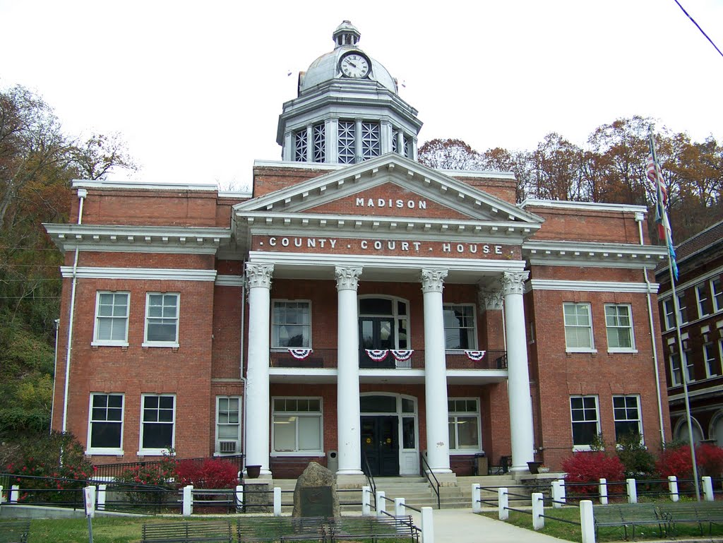 I frequent Traffic Court in the Historical Madison County Courthouse, Marshall NC