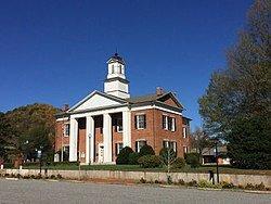 Historic Polk County Court House, Columbus, NC