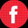 Facebook red check circle social media icon.png